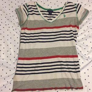 U.S Polo shirt w/ stripes
